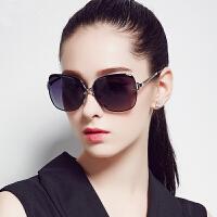 女士偏光太阳镜女潮时尚明星款太阳镜防紫外线墨镜女新款个性圆脸