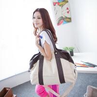 吉野新款韩版女包包帆布包手提包单肩包斜挎包休闲旅行包运动包时尚大包包潮女式包包712A2