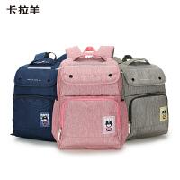 卡拉羊�p肩背包3-6年�初高中�W生男女新款背包��包休�e日�n��s