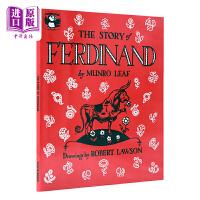 【中商原版】爱花的牛 公牛历险记 英文原版绘本 The Story of Ferdinand