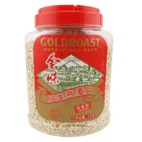 新加坡味驰集团 金味 麦片(纯生燕麦片)1000g 罐装 冲调麦片 即食型 营养早餐冲饮麦片
