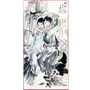 中国美术家协会常务理事、中国美术家协会副主席 周思聪《闽南小景》DW179
