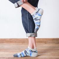 男袜子韩版纯棉加厚毛巾底秋冬款短筒袜潮男士短袜吸汗防臭篮球运动袜