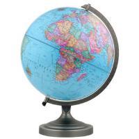 博目地球仪:30cm中英文政区地球仪(金属支架) 9787503040023 北京博目地图制品有限公司 测绘出版社