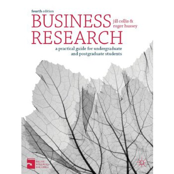 【预订】Business Research: A Practical Guide for Undergraduate & Postgraduate Students 美国库房发货,通常付款后3-5周到货!