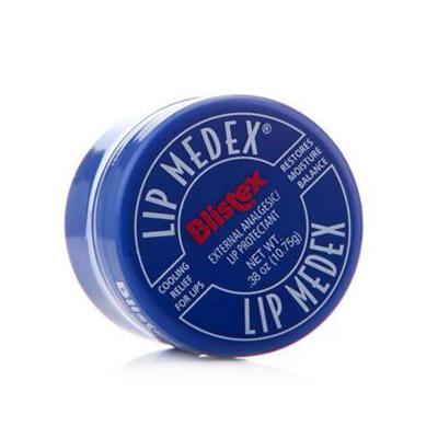 美国Blistex碧唇小蓝罐润唇膏专业修护滋润保湿护唇膏7g 冬季护肤 补水保湿