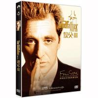 正版电影教父3正版电影DVD阿尔 帕西诺 盒装dvd碟黑帮正版电影DVD