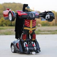变形金刚遥控汽车充电动感应机器人儿童男孩玩具赛车