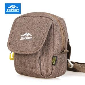 【99元三件】Topsky/远行客 户外运动男女背包单肩包休闲运动多功能旅行挎包