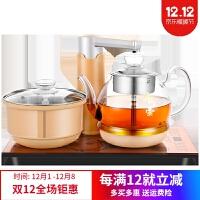 智能泡茶壶 全自动上水壶电热烧水壶套装智能加水抽水专用泡茶具电磁炉煮茶器