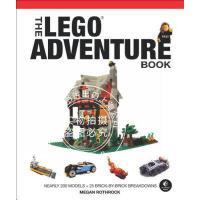 预售 英文预定 The LEGO Adventure Book, Vol. 2 Spaceships, Pirates,