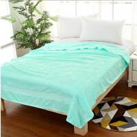 毛毯毛巾被加大加厚线毯纯棉全棉空调被双人加大