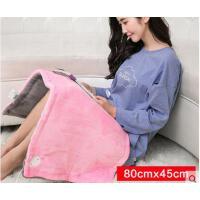 柔软舒适保暖暖脚宝插电褥子暖身毯简约精致耐用电热毯护膝毯坐垫电暖垫