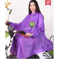 成人学生自行车电动车摩托车雨衣雨披 珠光有袖单人
