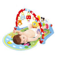 迪士尼婴儿脚踏钢琴健身架音乐游戏毯早教宝宝玩具