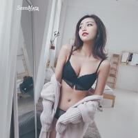 性感小胸聚拢文胸加厚调整型女式内衣收副乳胸罩