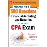 【预订】McGraw-Hill Education 500 Financial Accounting and Repo