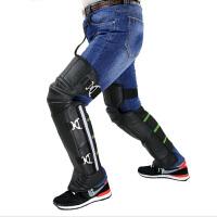 云博护膝摩托车护膝护腿保暖冬季骑行防寒防风电动车护膝加厚长款