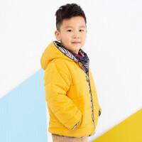 加菲宝贝 GAFFEY KITTY男童短款棉衣冬装GKCA7055