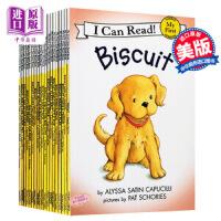 【中商原版】Biscuit 小饼干狗系列21册 I can read 英文原版 饼干狗原版英文书 儿童绘本 汪培�E书单