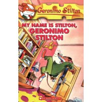 英文原版 老鼠记者19 Geronimo Stilton #19 My Name Is Stilton Geronimo Stilton