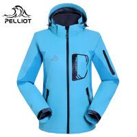 【520告白季直降售卖】PELLIOT伯希和 冲锋衣女 防水透气三合一户外抓绒两件套冲锋衣