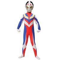 奥特曼衣服童装圣诞节儿童服装赛罗男童套装蜘蛛侠连体衣超人披风
