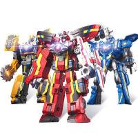 巨神战击队3超救分队变形机器人儿童玩具爆裂太阳冲锋战机王