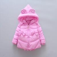 百槿 童装女孩棉衣外套美羊羊中小童宝宝女童保暖棉袄衣服冬装