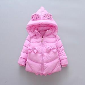【满200-100】百槿 童装女孩棉衣外套美羊羊中小童宝宝女童保暖棉袄衣服冬装