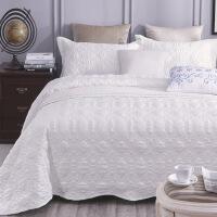 商场同款床盖三件套单件欧式绗缝铺盖衍缝被床上床单夹棉加厚的大 230cmx250cm三件套