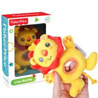 Fisher-Price费雪狮子王摇铃毛绒布艺宝宝婴儿摇铃棒手抓玩具