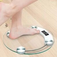 圆形26cm人体健康秤 体重秤 电子秤电子称体重秤家用小型精准男女生减肥称人体秤小巧电体重计