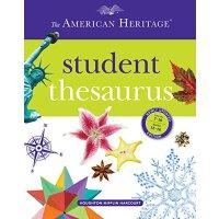 The American Heritage Student Thesaurus 美国历史学生百科全书【英文原版 ISBN=9780547659169】