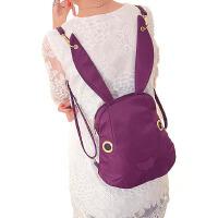 女包双肩包尼龙布卡通休闲包牛津布兔子时尚双肩背包卡通背包