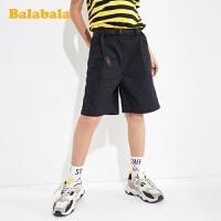 【抢购价:39.9】巴拉巴拉童装男大童儿童短裤休闲裤夏装男童中大童裤子潮