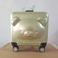 新款儿童拉杆箱18寸儿童行李箱万向轮密码锁密码登机箱 18寸