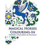 【预订】Magical Horses Colouring-In (Coloring Book): Adult Colo