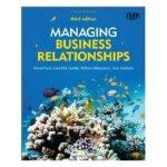 【预订】Managing Business Relationships
