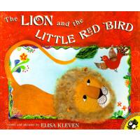 英文原版 狮子和小红鸟 The Lion and the Little Red Bird
