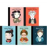 【现货合售】英文原版 小女孩,大梦想 5册传记绘本:香奈儿/阿加莎/奥黛丽・赫本/弗里达/居里夫人 Little Pe