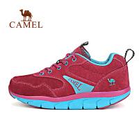 camel骆驼户外女款徒步鞋 耐磨透气出游户外鞋
