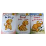 My First I Can Read Biscuit小饼干系列3本套装汪培�E推荐 认知启蒙有趣原版书籍 亲子共读读物
