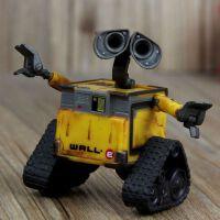 漫羽客盒装 电影版机器人总动员 可动玩偶 瓦力 伊娃摆件模型