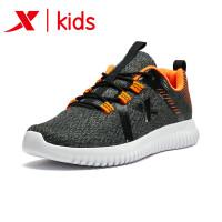 特步童鞋男童鞋儿童运动鞋中大童透气网面跑鞋681115119167