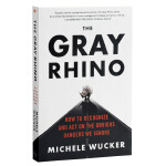 【中商原版】灰犀牛 英文原版 英文版 The Gray Rhino 企业融资 Michele Wucker 米歇尔 渥