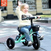 儿童脚踏车三轮车1-3-2-6岁大号儿童车子宝宝幼童3轮车脚踏车童车
