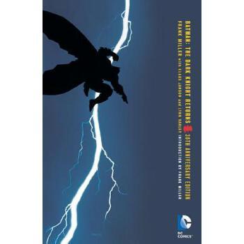 【现货】英文原版 蝙蝠侠:黑暗骑士归来  30周年纪念版 Batman: The Dark Knight Returns 全彩平装 DC漫画 国营进口!品质保证!