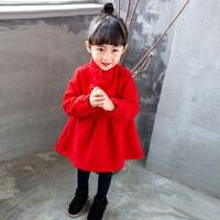 女童连衣裙秋宝宝加绒裙子2季儿童旗袍裙婴儿公主裙3-4岁装