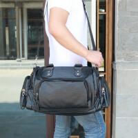 新款男包手提包休闲单肩斜挎包男士韩版时尚潮流大容量旅行包